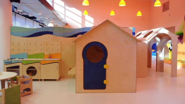 casa per bambini Merlino